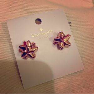 Rose Gold Kate Spade Earrings! 💖